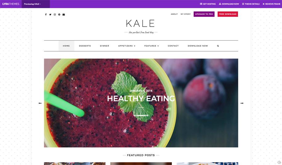 I 10 migliori temi WordPress per ristoranti, negozi food, streetfood