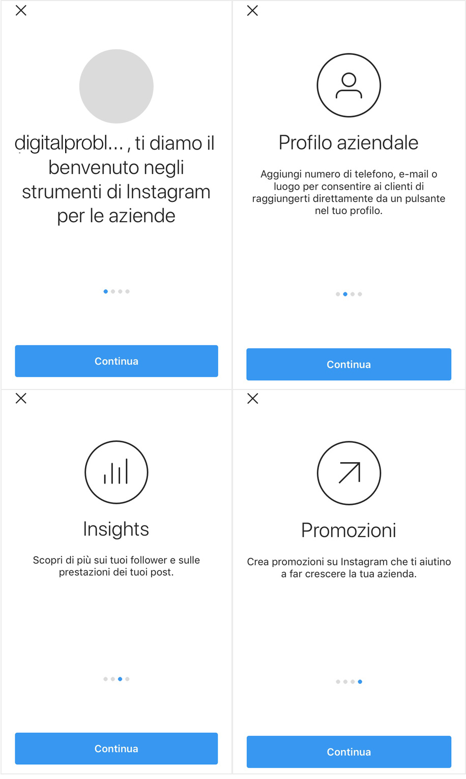 Come creare un account Instagram Business e gestirne i ruoli