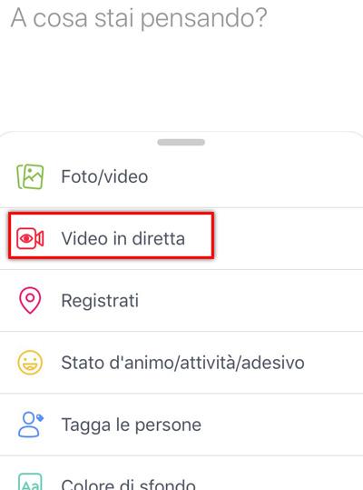 Come fare una diretta Facebook da mobile e da desktop