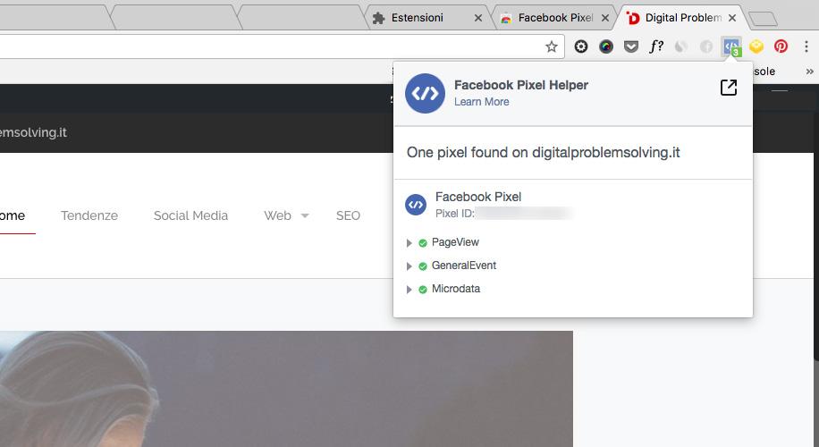 Cos'è il Pixel di Facebook e come funziona