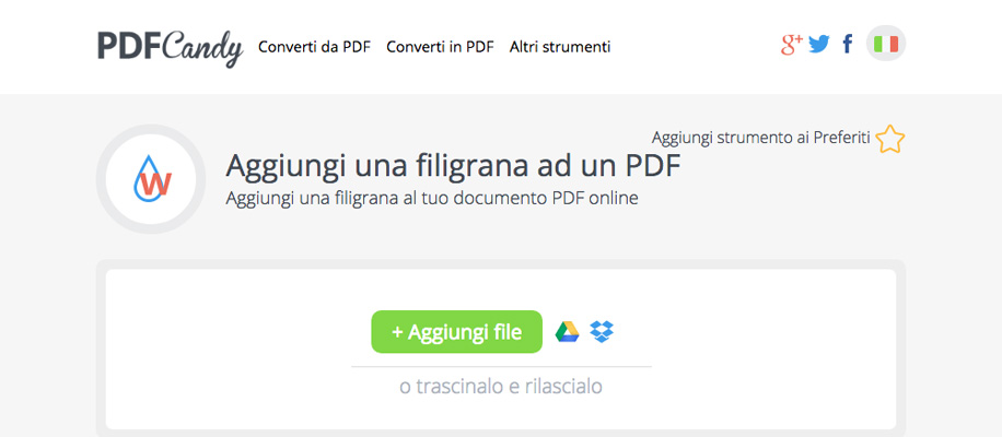 Come modificare dei file PDF online